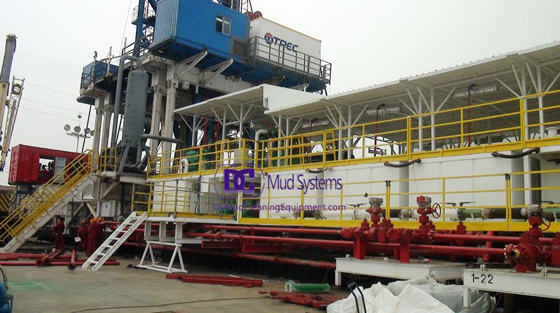 ZJ70 Drilling Rig Solids Control System