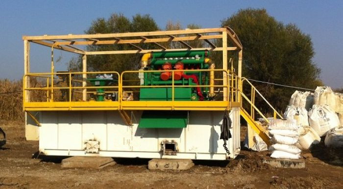 350gpm mud recycling system